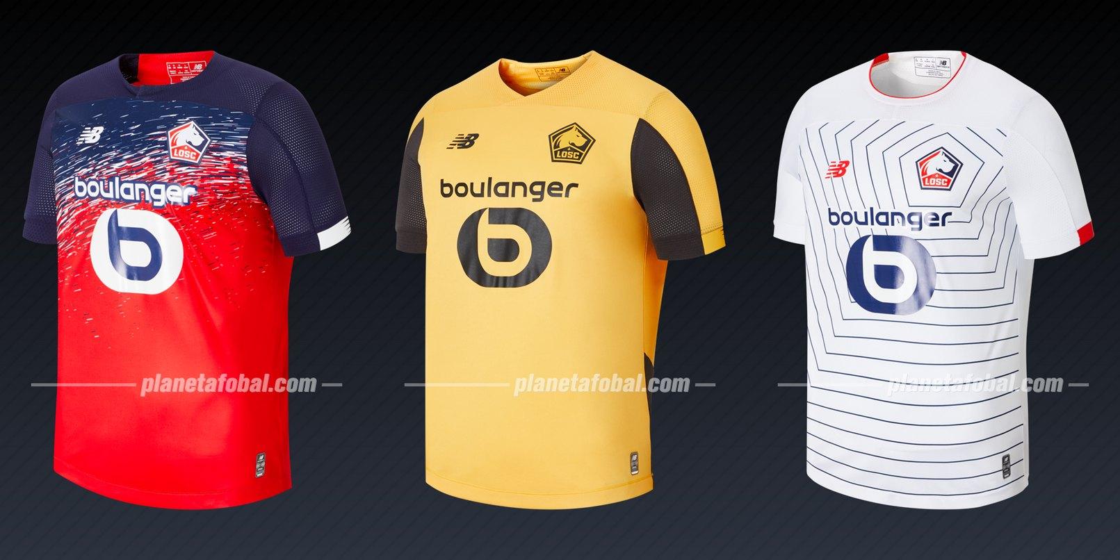 LOSC Lille (New Balance) | Camisetas de la Liga de Campeones 2019/20