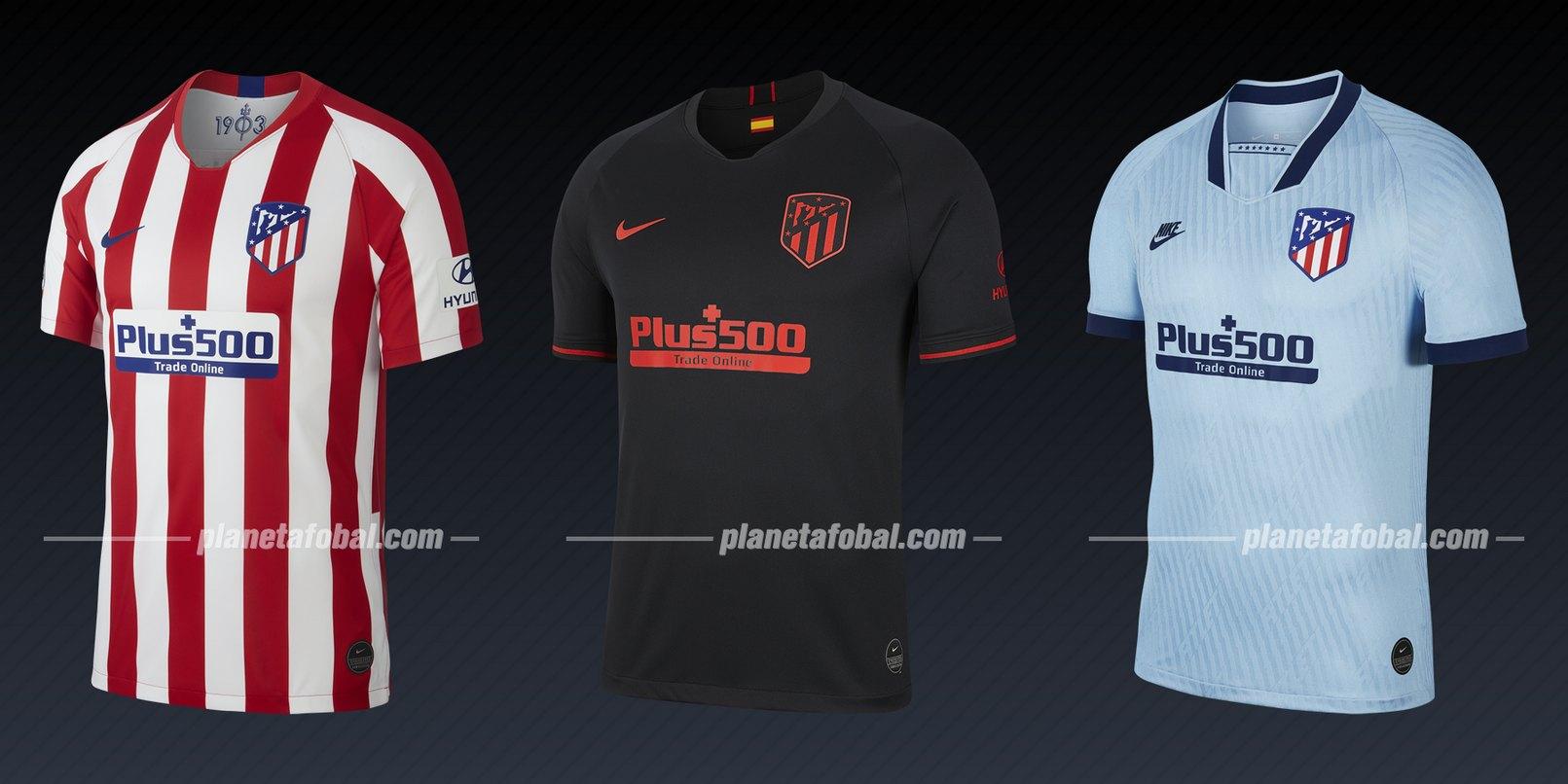 Atletico de Madrid (Nike) | Camisetas de la Liga de Campeones 2019/20