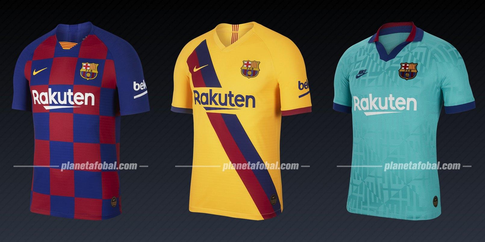 FC Barcelona (Nike) | Camisetas de la Liga de Campeones 2019/20