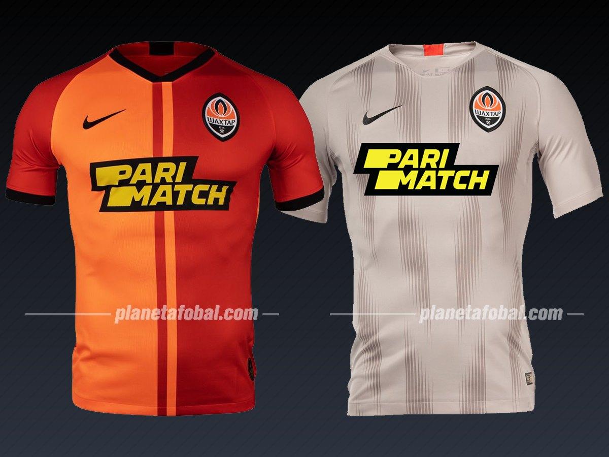 Shakhtar Donetsk (Nike) | Camisetas de la Liga de Campeones 2019/20