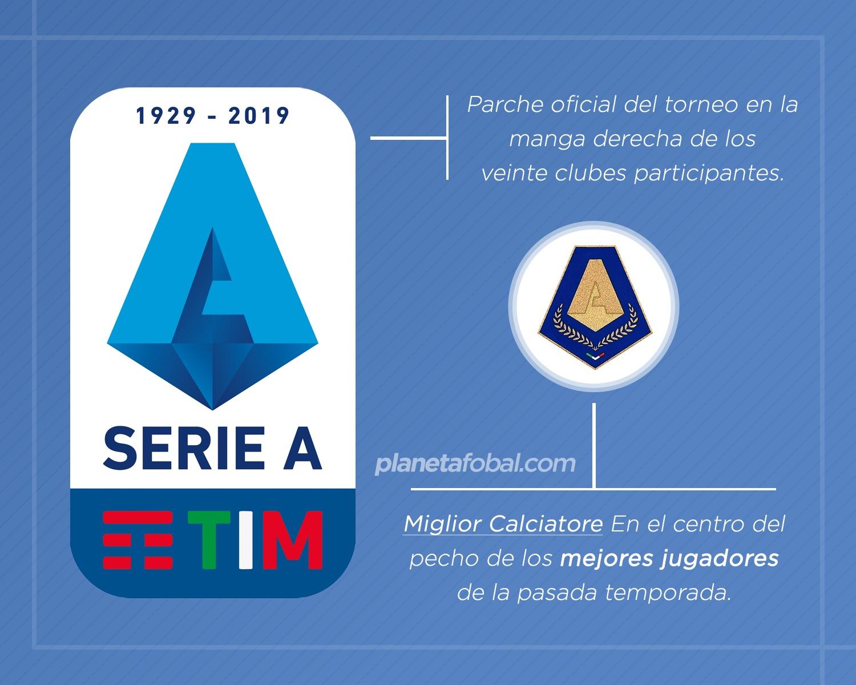 Los nuevos parches que se verán en las camisetas de la Serie A 2019/20 | Imágenes Web Oficial