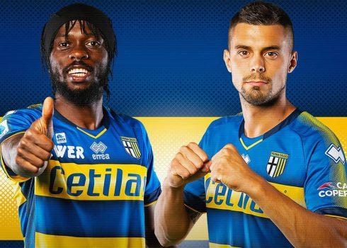 Camiseta suplente Erreà del Parma Calcio 1913 2019/20   Imagen Web Oficial