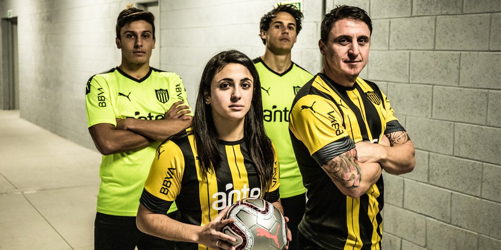 Nuevas camisetas de Peñarol 2019/2020 | Imagen Puma Uruguay