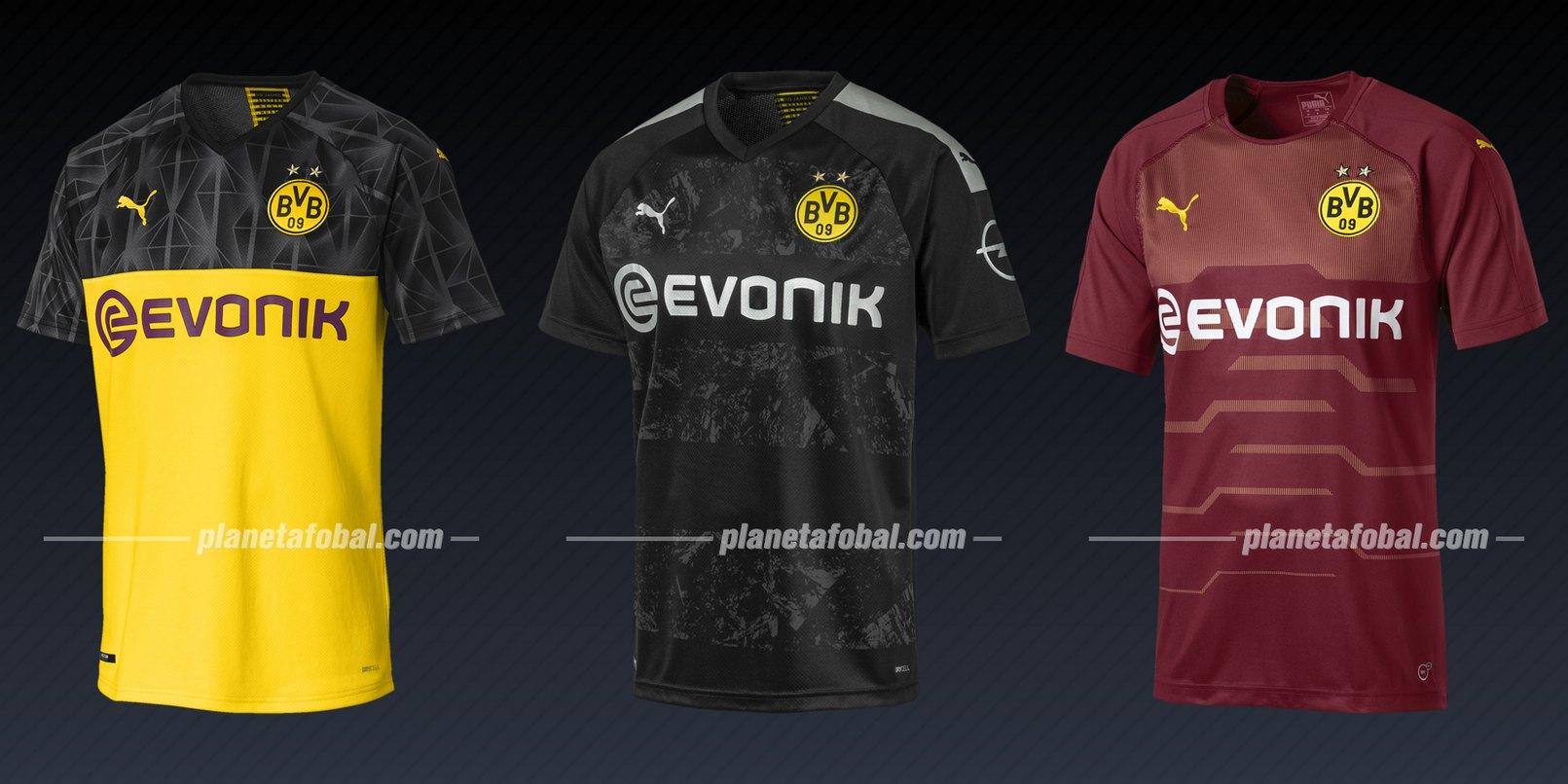 Borussia Dortmund (Puma) | Camisetas de la Liga de Campeones 2019/20