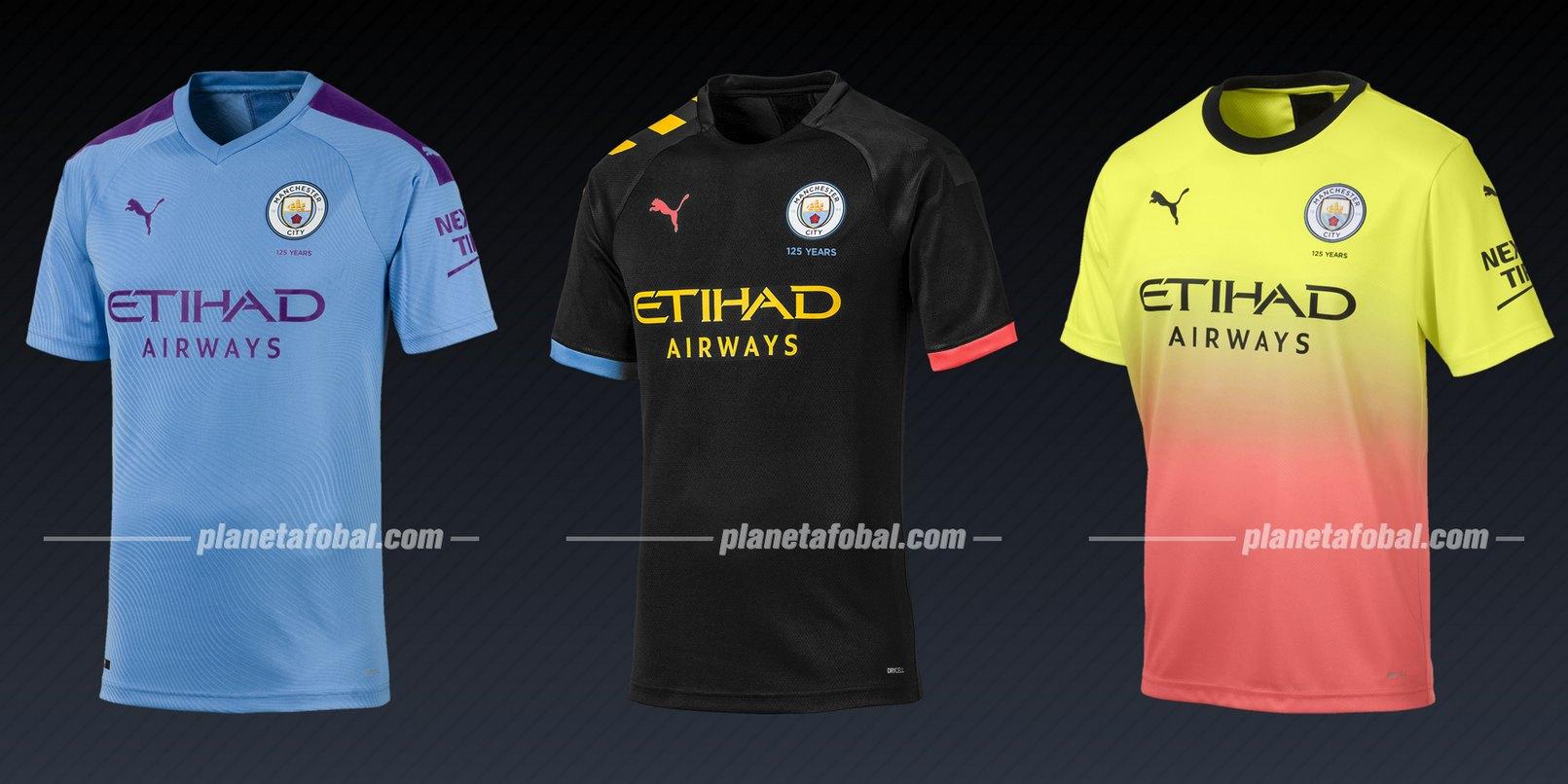 Manchester City (Puma) | Camisetas de la Liga de Campeones 2019/20