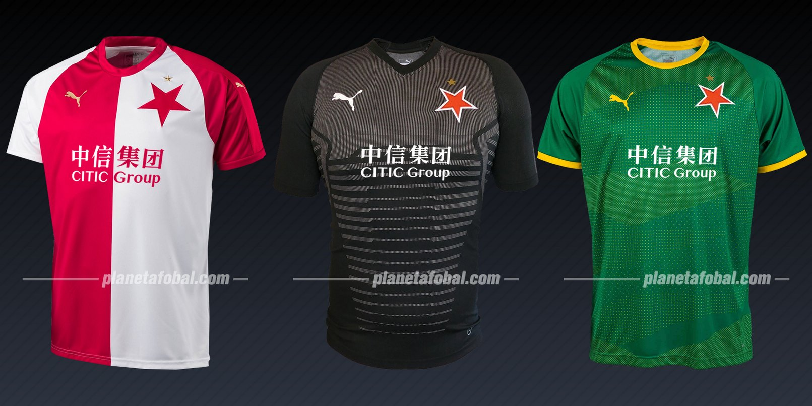 Slavia Praha (Puma) | Camisetas de la Liga de Campeones 2019/20