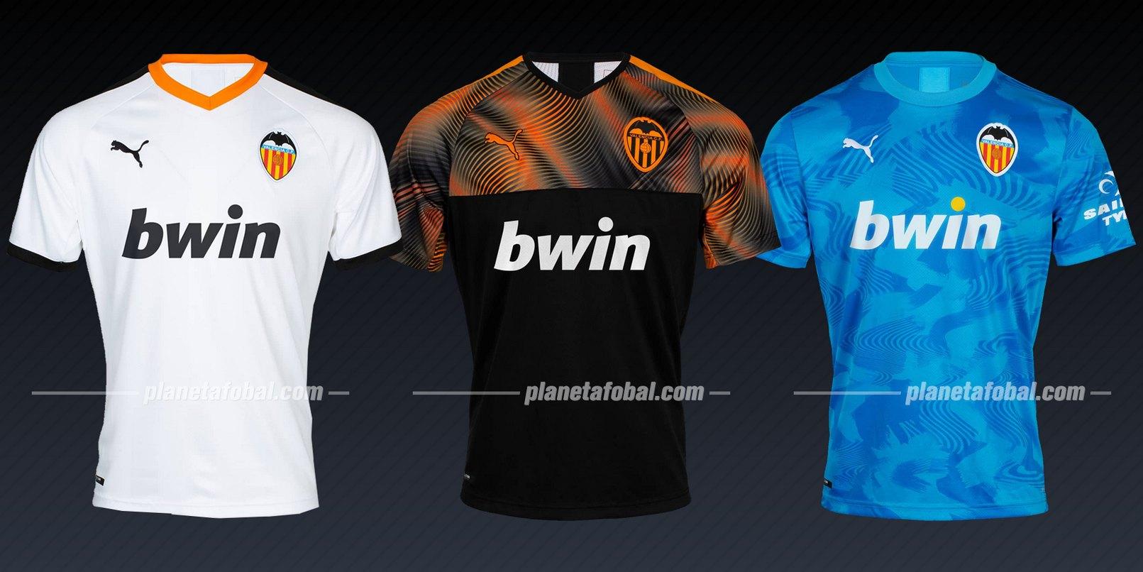 Valencia (Puma) | Camisetas de la Liga de Campeones 2019/20