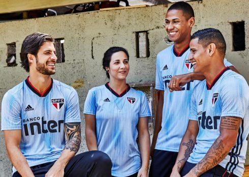 Tercera camiseta del São Paulo FC 2019/20 | Imagen Adidas