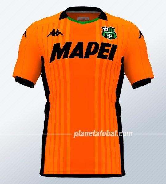 Camiseta de arquero del Sassuolo 2019/2020 | Imagen Kappa