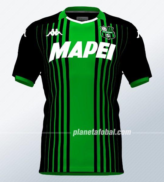 Camiseta titular del Sassuolo 2019/2020 | Imagen Kappa