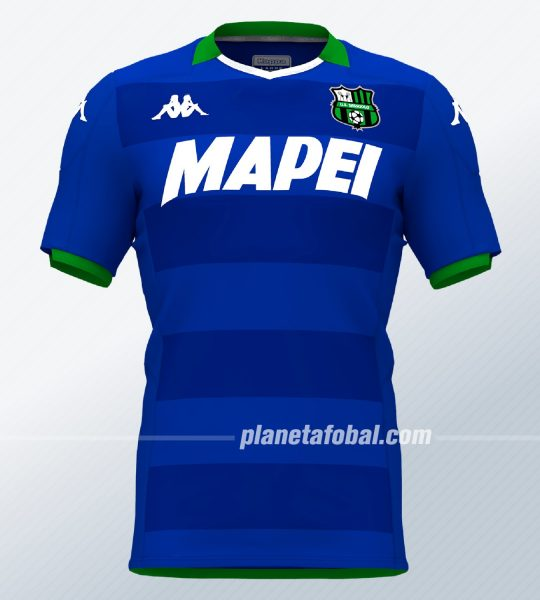 Tercera camiseta del Sassuolo 2019/2020 | Imagen Kappa
