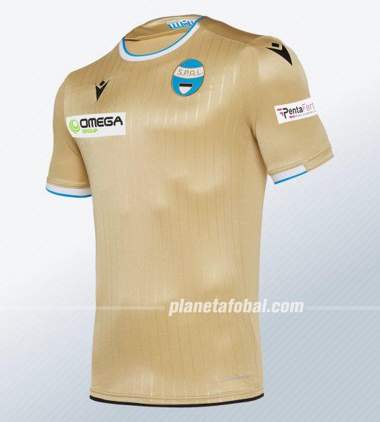 Camisetas suplente del SPAL Ferrara 2019/20 | Imagen Macron
