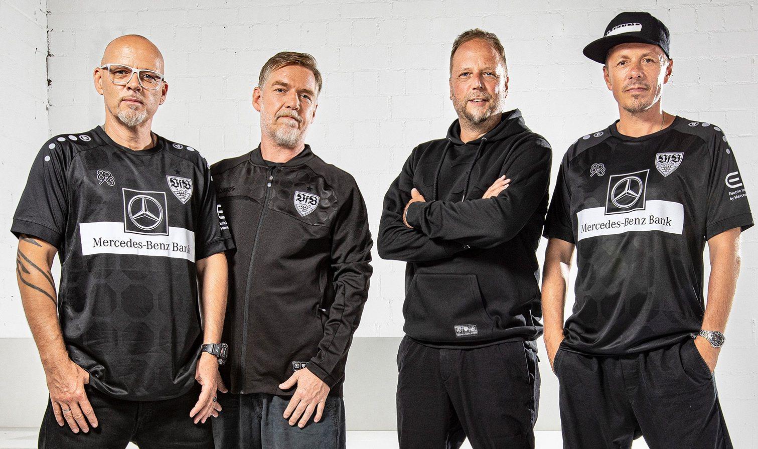 Die Fantastischen Vier posaron con la nueva colección | Imagen Web Oficial