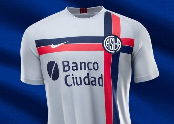 Tercera camiseta Nike de San Lorenzo 2019/2020 | Imagen Web Oficial