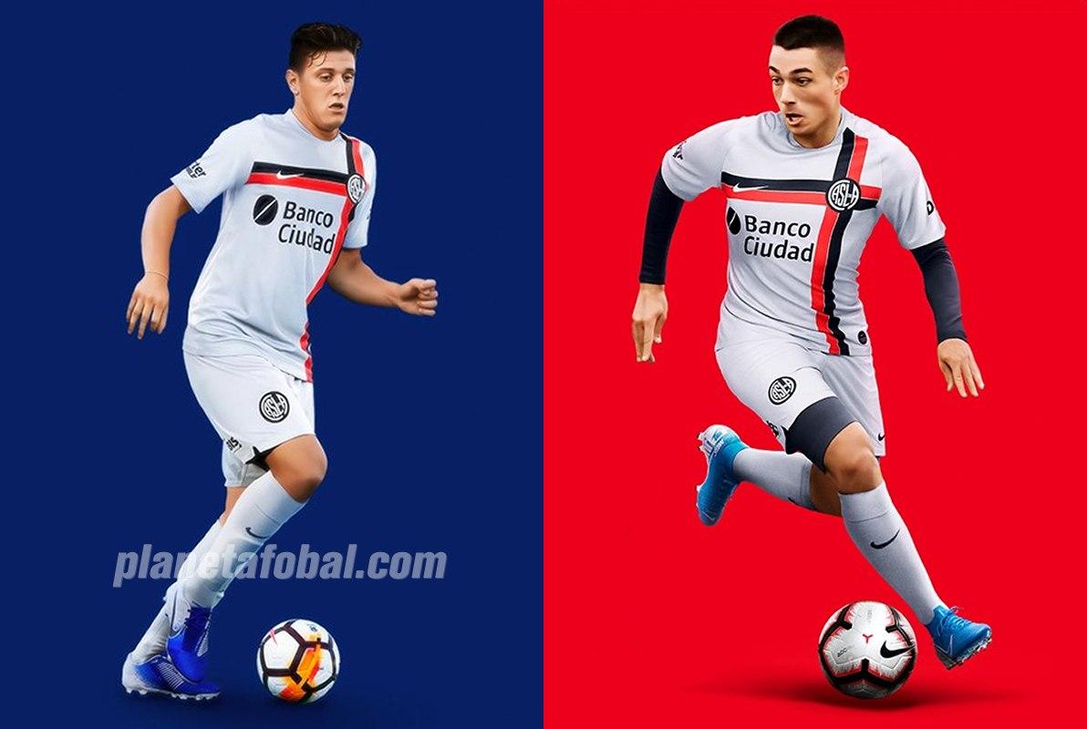 Tercera camiseta de San Lorenzo 2019/2020 | Imágenes Nike