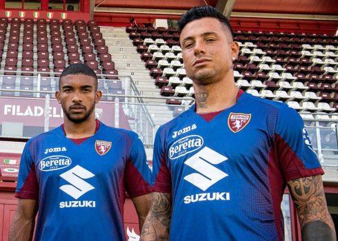 Tercera camiseta Joma del Torino 2019/20 | Imagen Twitter Oficial