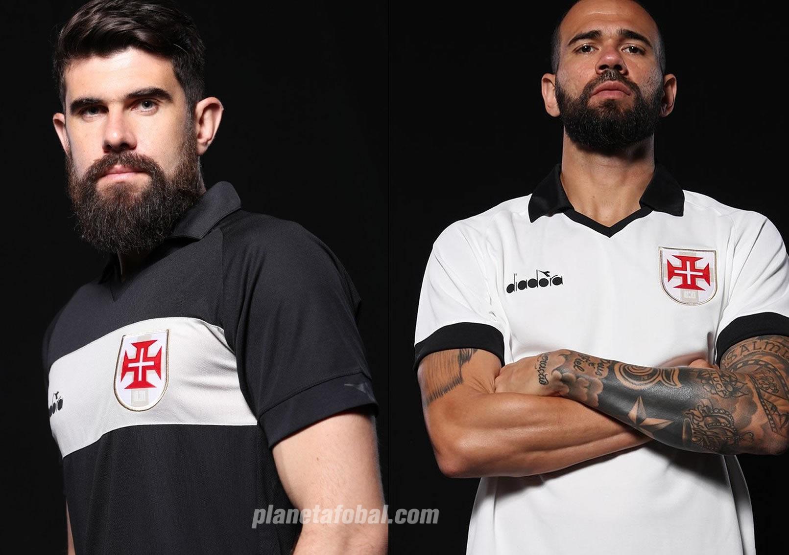 Tercera camiseta Diadora del Vasco Da Gama 2019/20 | Imagen Twitter Oficial