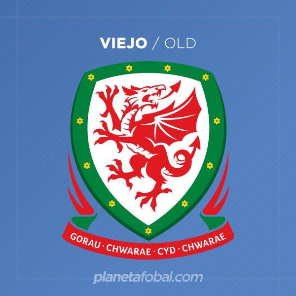 Escudo anterior de la selección galesa | Imagen FAW