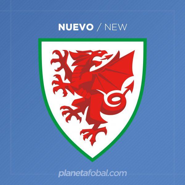 Nuevo escudo de la selección galesa | Imagen FAW