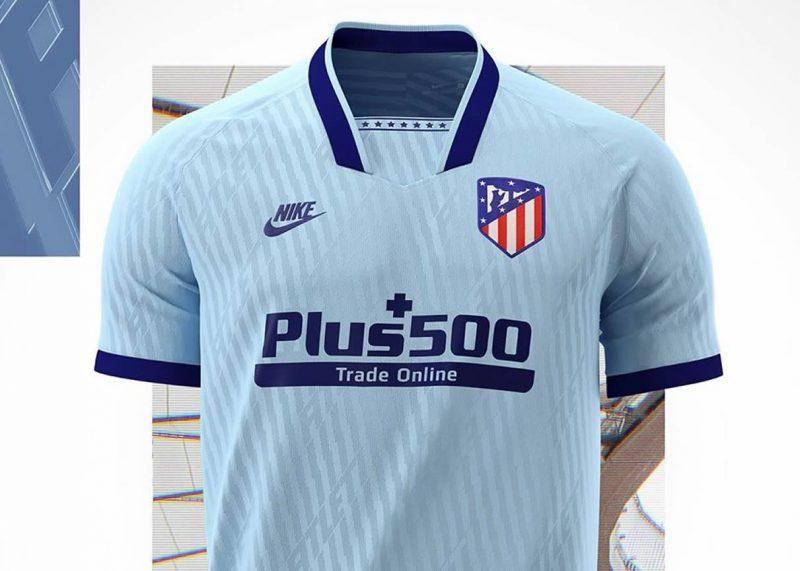 Tercera camiseta del Atlético de Madrid 2019/2020   Imagen Nike