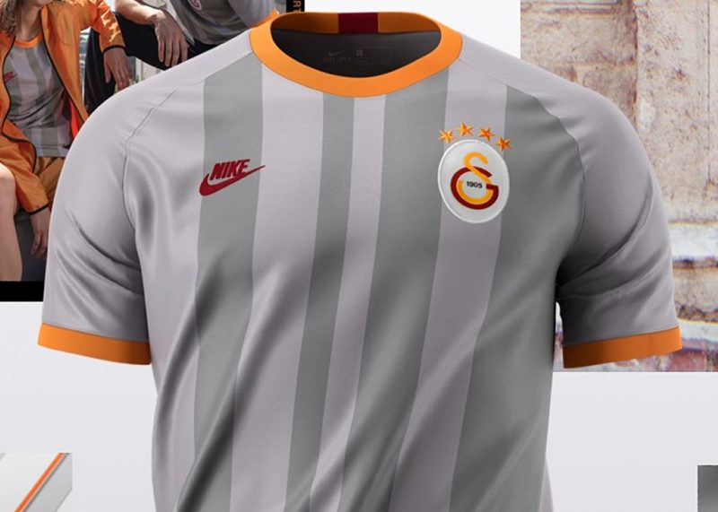 Tercera camiseta del Galatasaray 2019/20   Imagen Nike