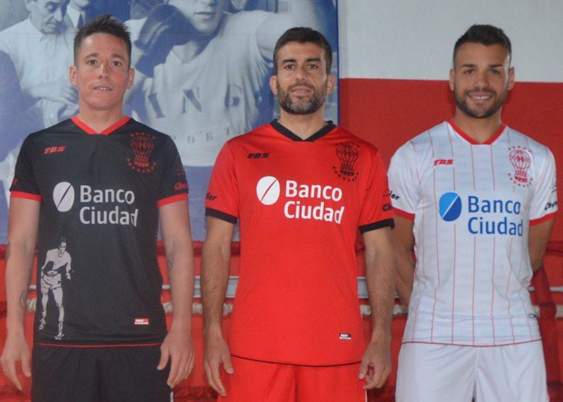 Camisetas TBS de Huracán 2019/2020 | Imagen Web Oficial
