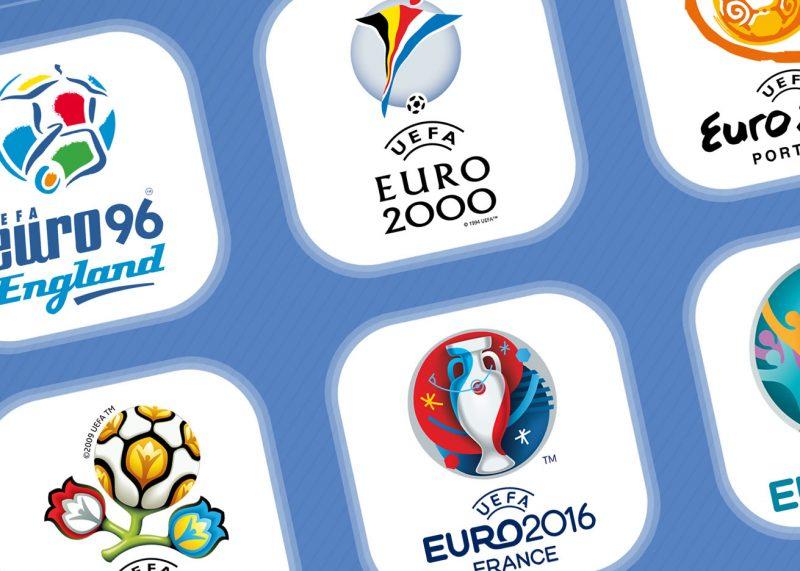 Evolución de los logos de la UEFA Euro (1960-2020)