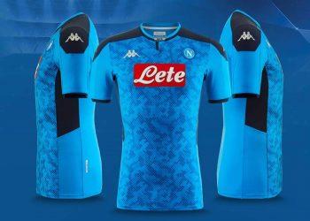 Camiseta Kappa del Napoli Champions League 2019/20 | Imagen Web Oficial