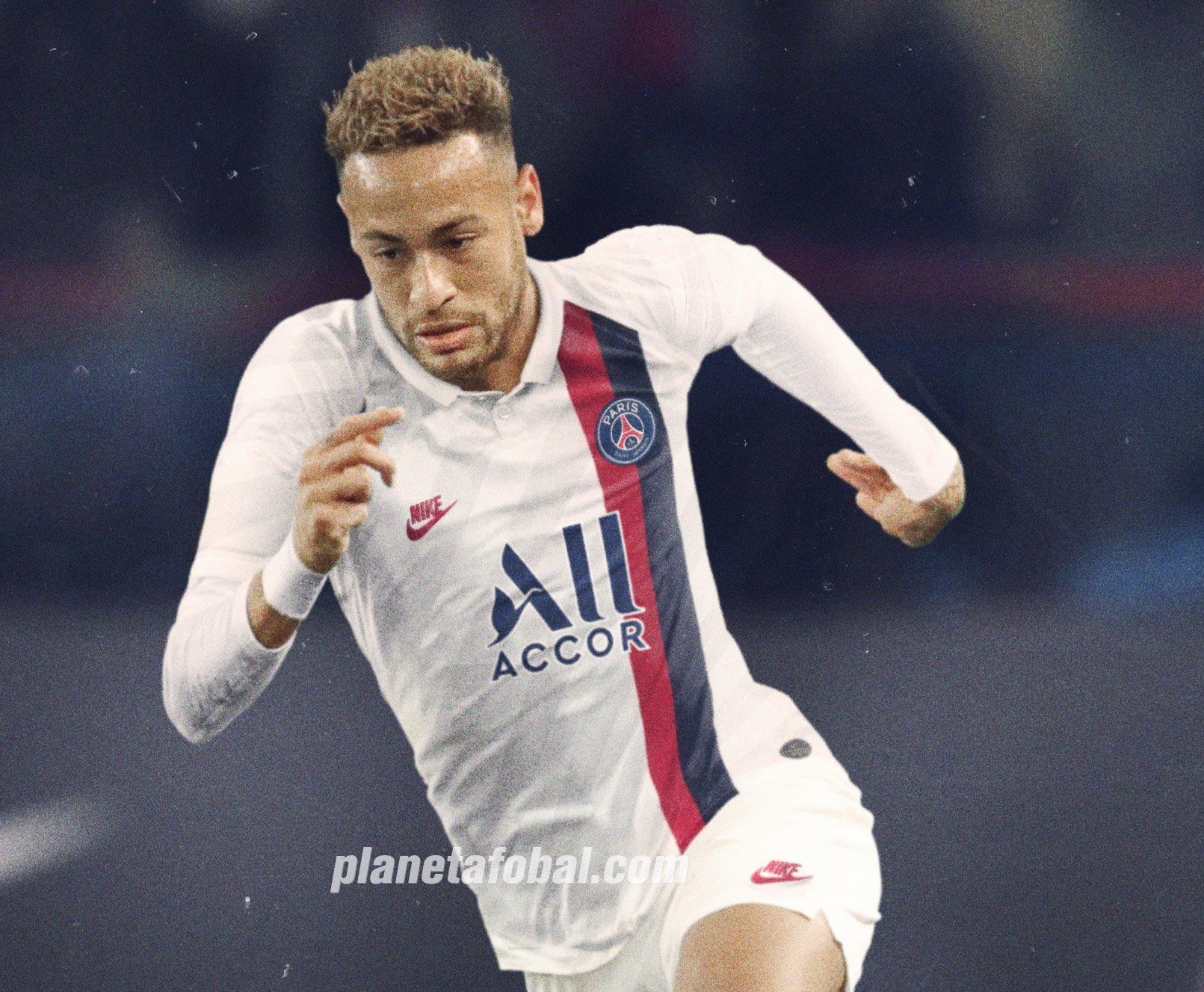 Neymar con la tercera camiseta del PSG 2019/2020 | Imagen Nike