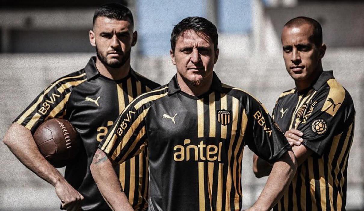 Camiseta Puma de Peñarol 128 Aniversario | Imagen Twitter Oficial