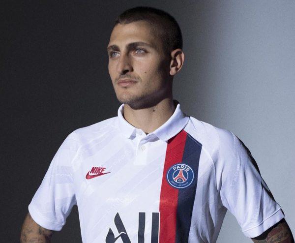 Verratti con la tercera camiseta del PSG 2019/2020 | Imagen Nike