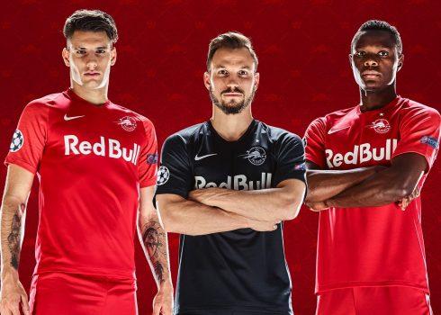 Camisetas europeas Nike del Red Bull Salzburg 2019/20 | Imagen Web Oficial