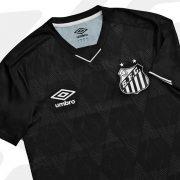 Tercera camiseta Umbro del Santos 2019/2020 | Imagen Twitter Oficial