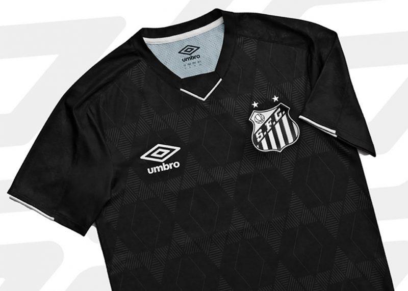 Tercera camiseta Umbro del Santos 2019/2020   Imagen Twitter Oficial