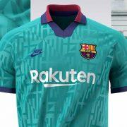 Tercera camiseta del Barcelona 2019/2020   Imagen Nike