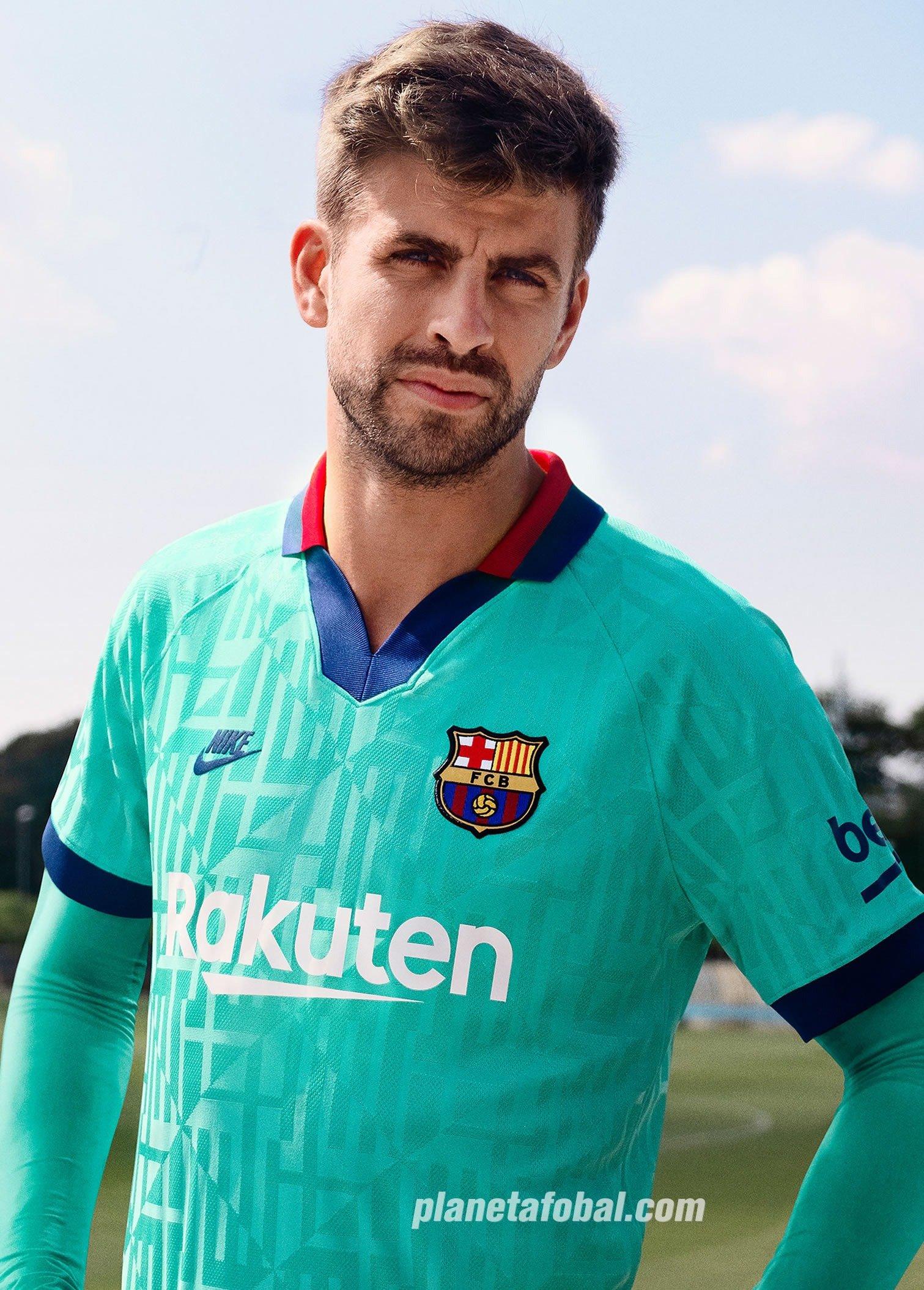 Tercera camiseta del Barcelona 2019/2020 | Imagen Nike
