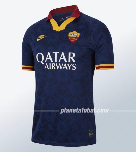 Tercera camiseta de la AS Roma 2019/2020 | Imagen Nike