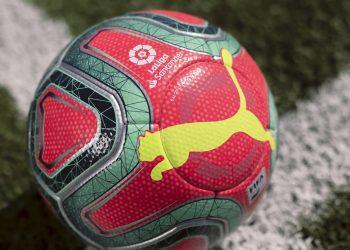 Balón Puma rosa de LaLiga de España 2019/20 | Imagen Web Oficial