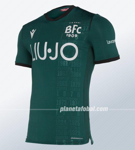 Tercera camiseta del Bologna 2019/2020 | Imagen Macron