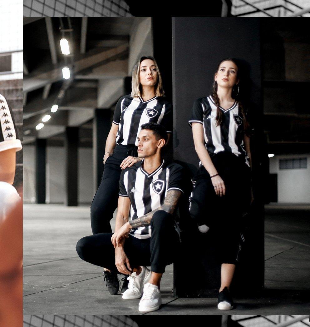 Camisetas Kappa del Botafogo 2019/20 | Imagen Web Oficial