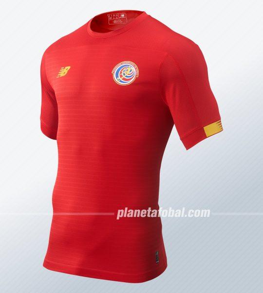 Nuevas camisetas de Costa Rica 2019/2020 | Imagen New Balance