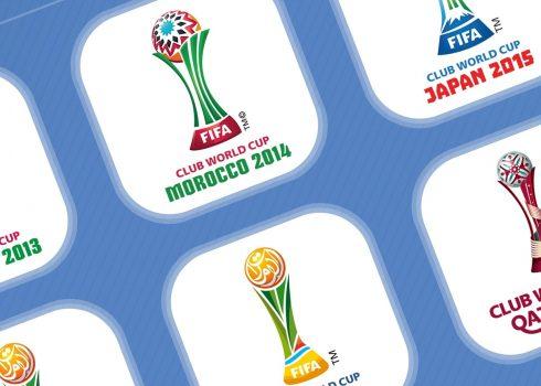 Evolución de los logos del Mundial de Clubes (2000-2019)