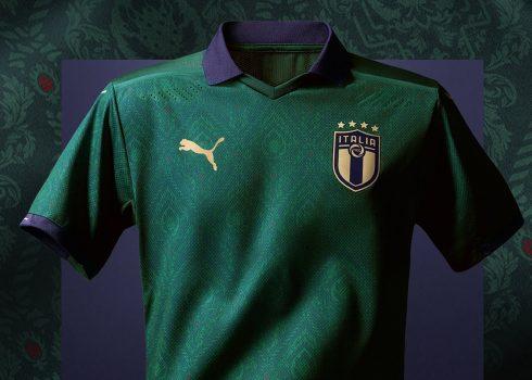Tercera camiseta de Italia 2019/2020 | Imagen Puma