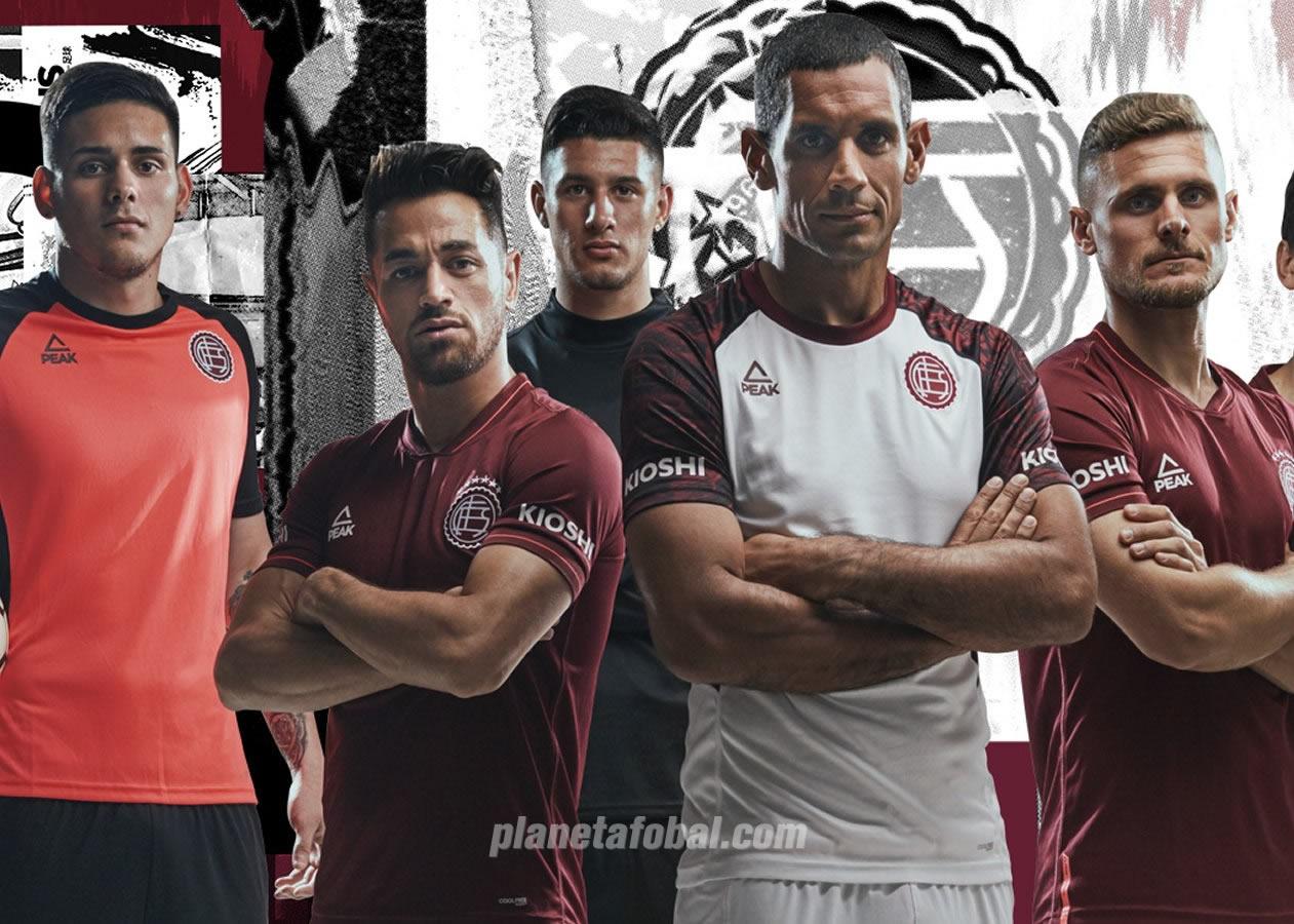 Camisetas Peak de Lanús 2019/2020 | Imagen Web Oficial