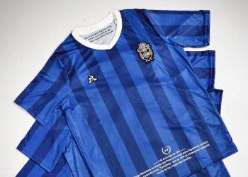 Tercera camiseta le coq sportif de Gimnasia LP 2019/20 | Imagen Twitter Oficial