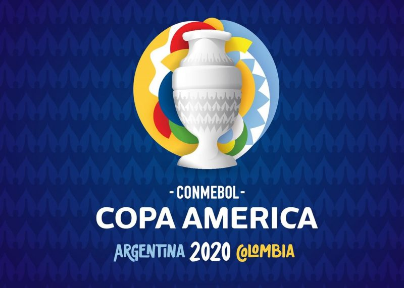 """Logo oficial de la Copa América """"Argentina Colombia 2020""""   Imagen CONMEBOL"""