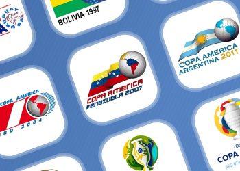 Evolución de los logos de la Copa América (1987-2020)