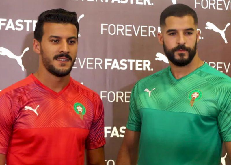 Camisetas Puma de Marruecos 2019/2020 | Captura Video