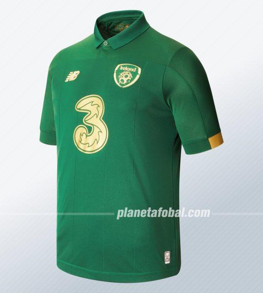 Camiseta titular de Irlanda 2019/2020 | Imagen New Balance