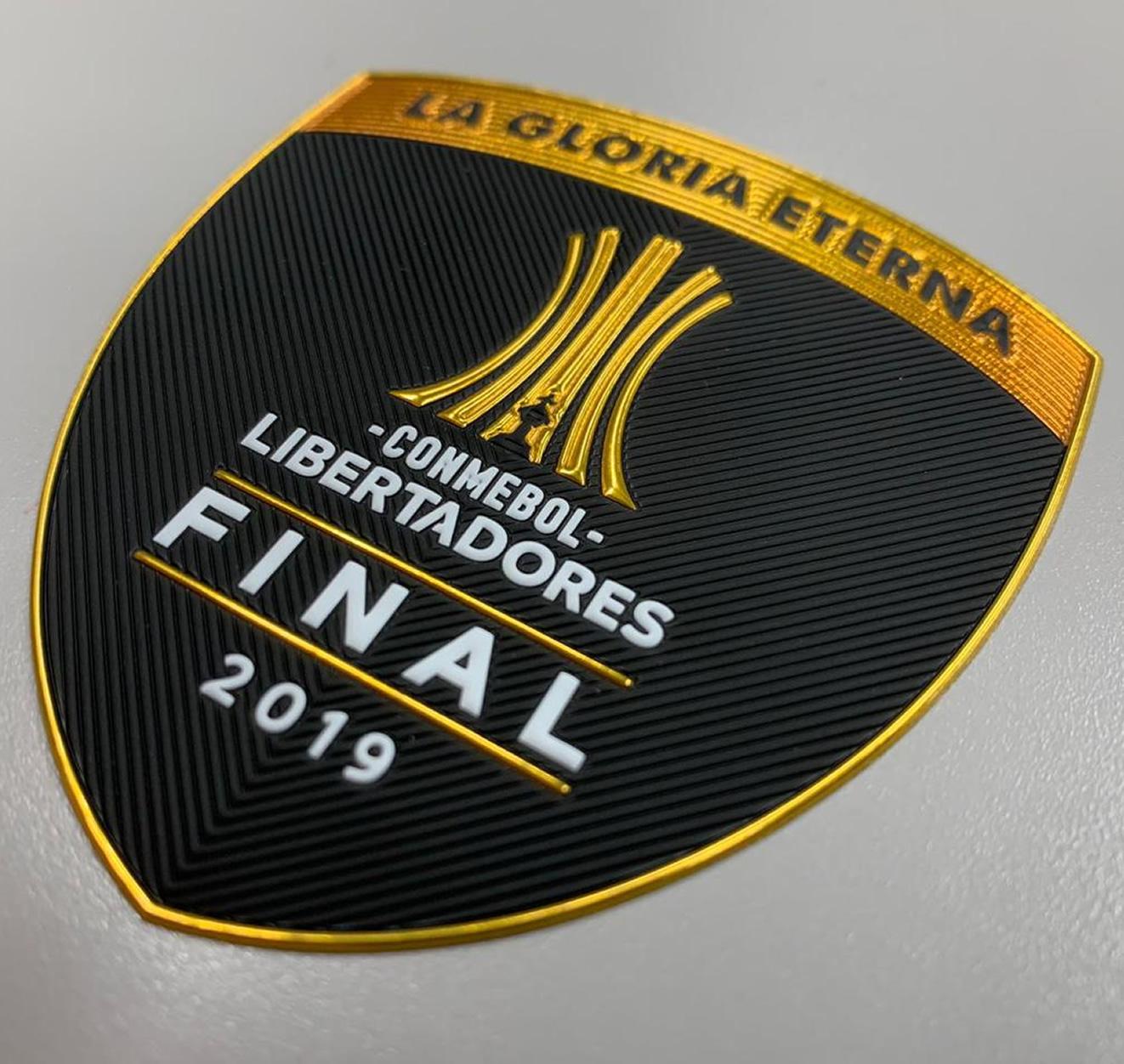 Parche oficial de la Final 2019 de la Copa Libertadores   Imagen CONMEBOL